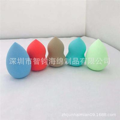 热销化妆棉 干湿两用葫芦水滴美妆蛋 不掉渣不吃粉非乳胶化妆海绵
