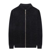 秋冬新款毛衣男立领拉链男士毛衣韩版修身男式开衫长袖针织外套