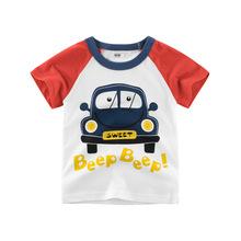 2020新款童裝夏季男童短袖t恤純棉kids wear兒童服裝一件代發ins
