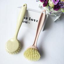 麦秸秆洗锅刷 长柄刷清洁刷 洗锅小刷子 清洗用刷厨房用品神器洗
