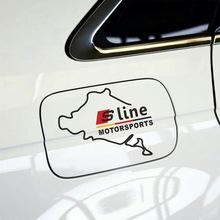 适用于奥迪车贴A1A3A4LA5A6LQ3Q5TT改装油箱盖车贴反光贴汽车贴纸