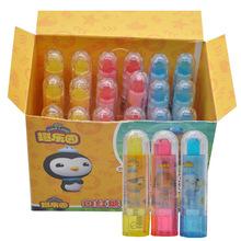 海底小纵队口红糖玩具唇膏糖创意儿童糖果玩具零食休闲食品