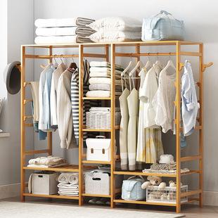 储物柜收纳简易衣柜组装柜子置物柜双人衣橱自由组合多功能衣柜