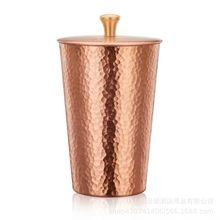 DIGUO銅制接粉杯 單品咖啡接粉杯帶蓋 小飛馬小飛鷹正晃行適用