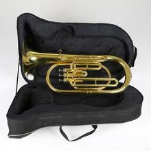 军亮次中音号乐器降b调三立键次中音号小抱号巴立东铜管乐器批发