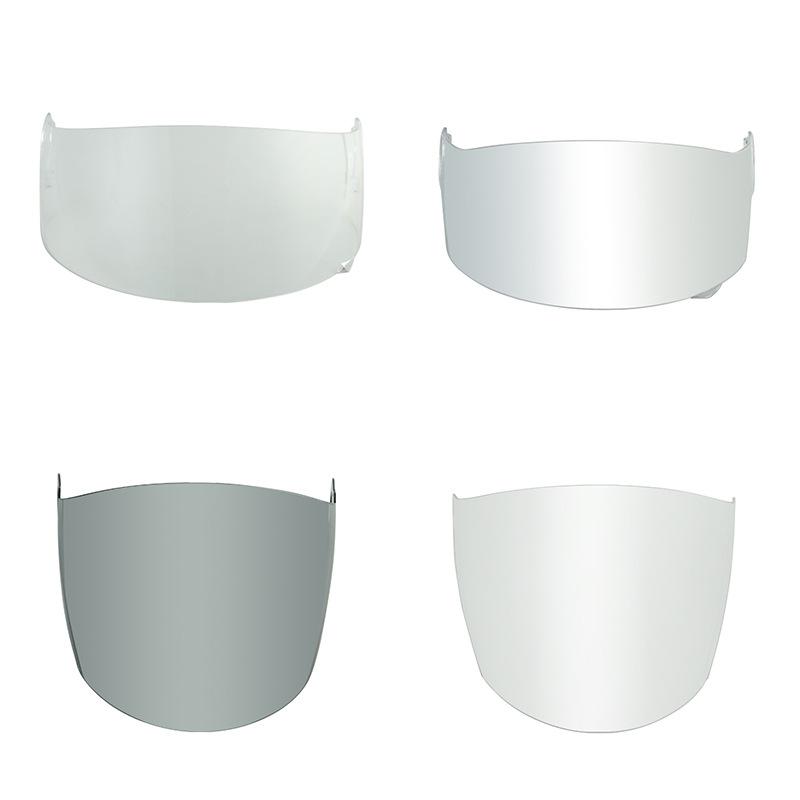 Lambor头盔镜片 PC一体注塑成型单层防雾头盔片 变色偏光头盔镜片