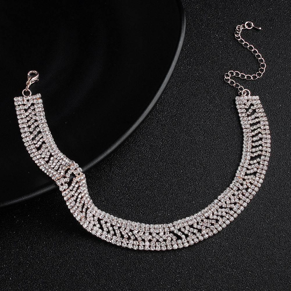 Alloy Fashion Geometric necklace  (Alloy) NHHS0387-Alloy
