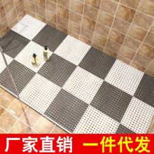 厂家直销无味拼接浴室防滑垫 酒店卫生间厨房隔水按摩地垫 地毯