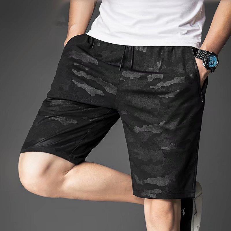 2020新款男士休闲裤夏季宽松运动健身短裤男五分速干户外大码跑步