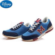迪士尼儿童棉鞋男童新款秋冬季童鞋大童加绒加厚保暖运动跑步鞋潮