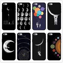 星空太空星球 适用iphone12Pro手机壳 7G硅胶软壳 XR外套XS11外壳