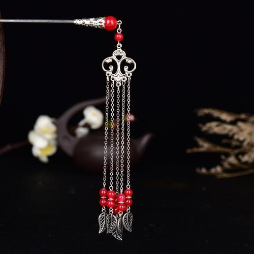 chinese hanfu hair accessory for girls Ancient headdress long tassel hairpin classic ancient Princess hairpin hairpin pan hair lady hairpin step shake