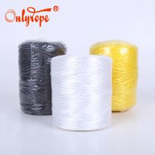 厂家直销塑料绳草丙绳pp绳包装捆扎绳500g网络丝打包绳