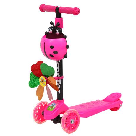 Nhà máy trực tiếp trẻ em mét xe tay ga cao ba vòng bốn bánh xe tay ga ếch đu xe trẻ em xe tay ga Xe tay ga