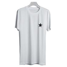 五星T恤歐美風圓領短袖T恤街頭男裝男士短袖T恤潮牌男T恤廣州服飾
