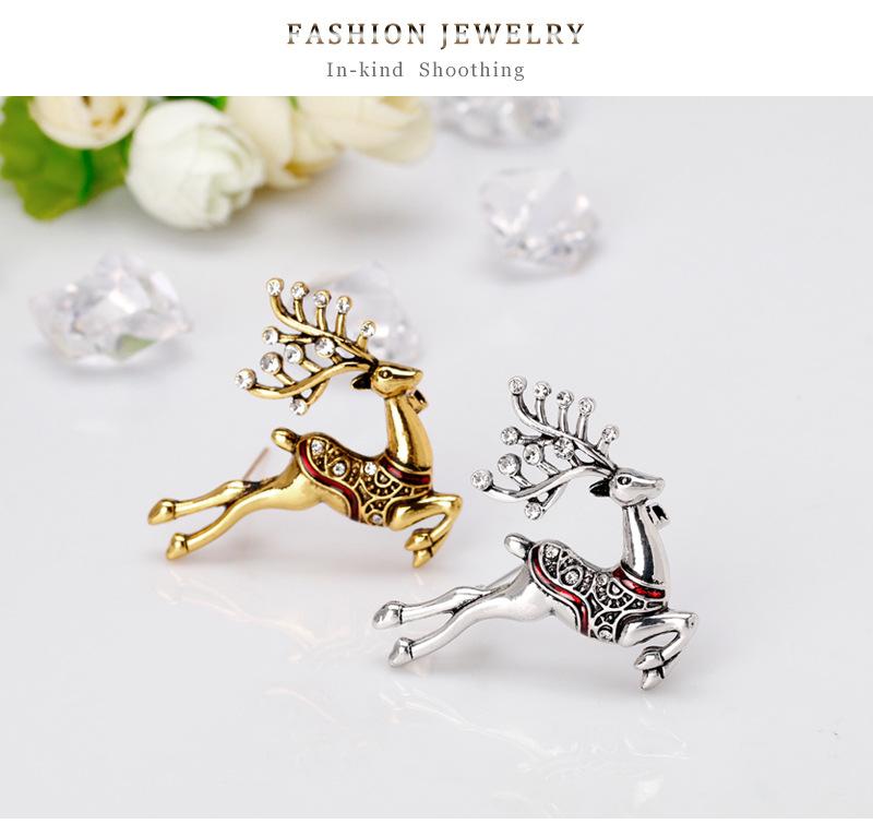 Alloy Fashion Animal brooch(AL376-A) NHDR3092-AL376-A