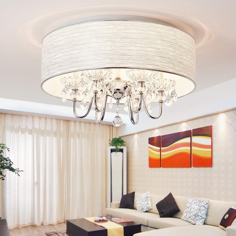 现代简约客厅灯简欧餐厅吊灯后现代水晶卧室灯大气家用灯具灯饰