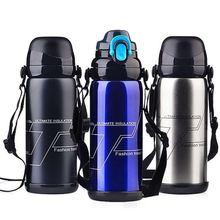 厂家直销不锈钢真空保温杯水杯户外运动水瓶创意礼品大容量保温壶