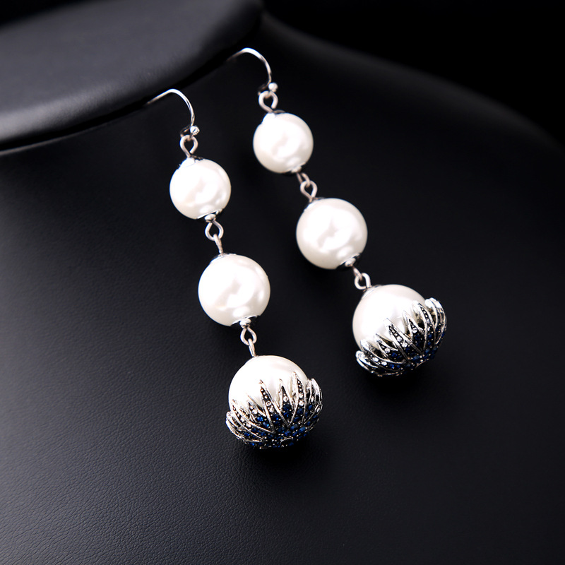 Alloy Fashion Flowers earring(Photo Color) NHQD5171-Photo Color