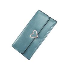 新款女士钱包时尚多卡位钱夹手机包韩版手拿包搭扣手抓包厂家直销