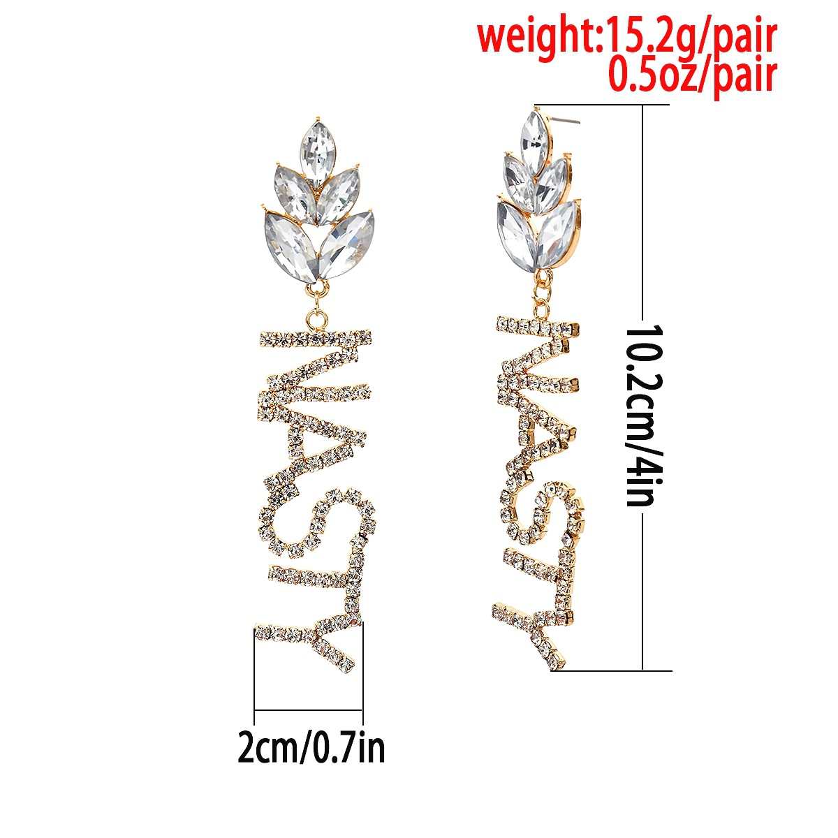 Alloy Simple Tassel earring  (Alloy BOYSGIRLS) NHXR2634-Alloy-BOYSGIRLS