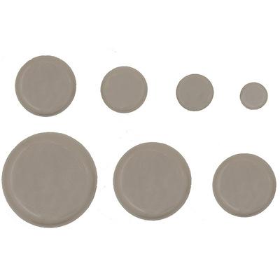 批发定制圆形HDPE塑料助滑垫家具助滑保护垫家具助滑垫保护垫