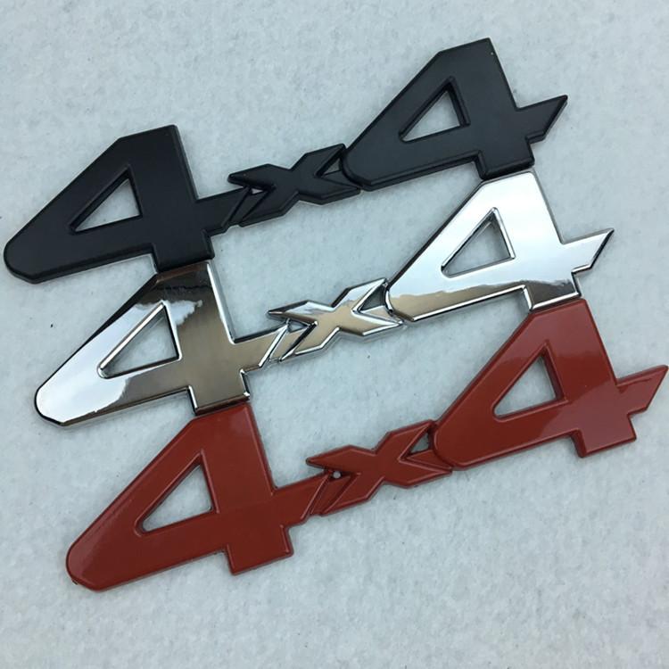 适用于吉普JEEP自由人 指南者牧马人车标4WD 4X4金属改装车贴