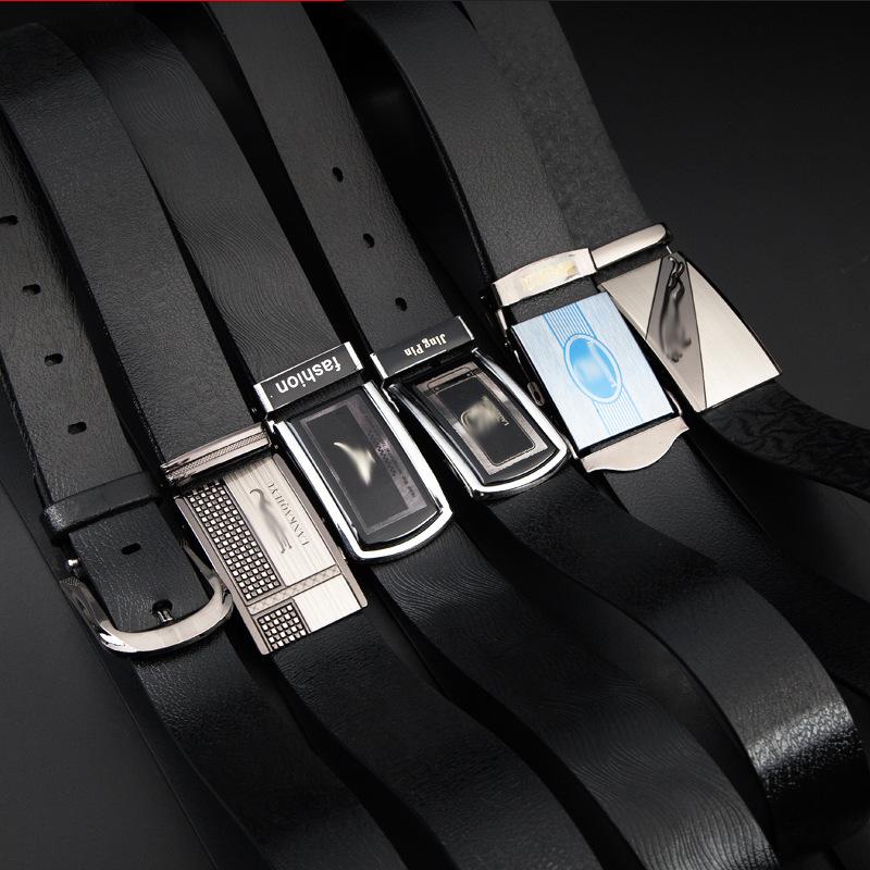 快手抖音地摊货源航空腰带自动扣鞋服赠品腰带2-4cm合金男士皮带