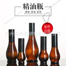 高档棕色葫芦精油瓶化妆品膏霜瓶褐色指甲油香水瓶10ML一100ML