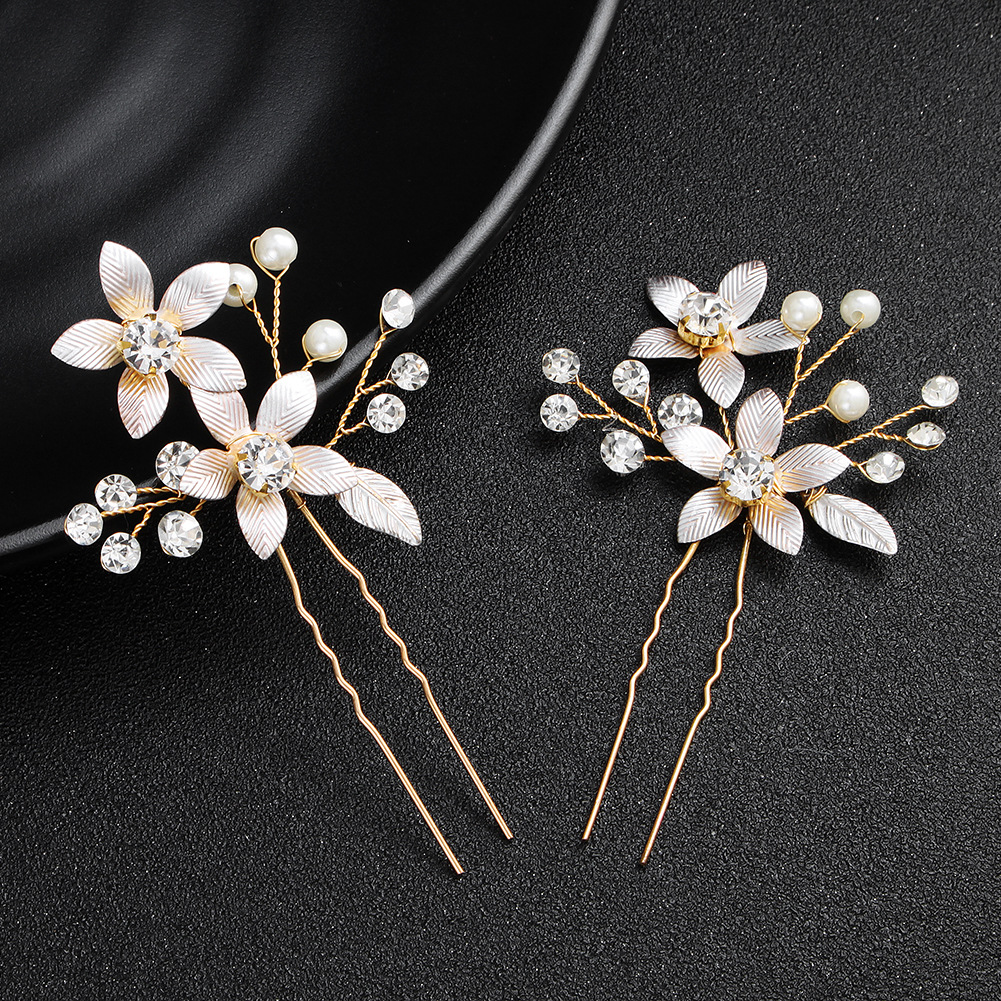 Alloy Fashion Flowers Hair accessories  (Alloy) NHHS0543-Alloy