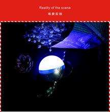 新款圣诞球无线蓝牙音箱TWS led小音响带夜灯 便携式圣诞节礼品
