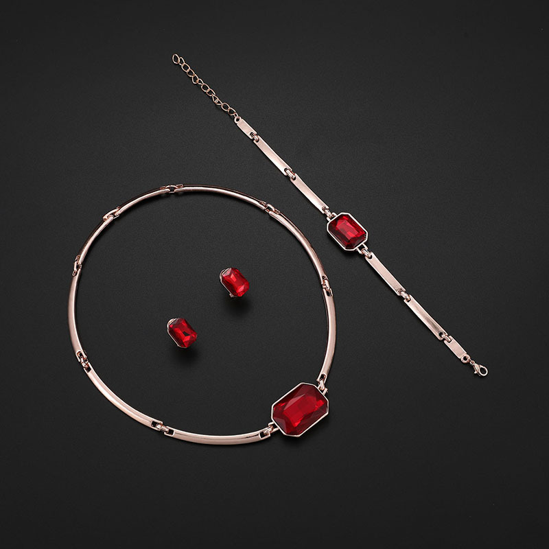 Alloy Simple  necklace  (61173206) NHXS1668-61173206