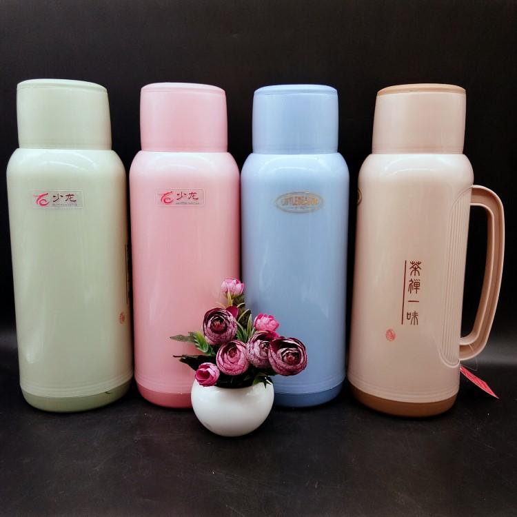 8157中国风塑料新款保温瓶2.0L热水瓶广告促销礼品赠品货源暖壶