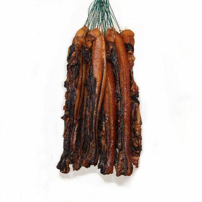 廣式臘腸香腸臘肉 500克 廣東農家土豬手工 生曬五花臘肉 A1084