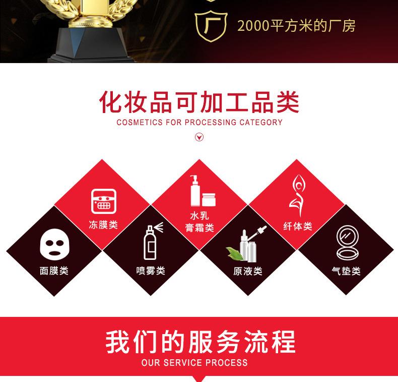 化妝品加工廠家:沙棘 煙酰胺 微商化妝品oem