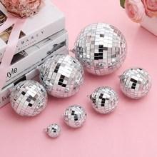 厂家直销镜面球反光球里 酒吧Disco ball婚庆玻璃球蛋糕装饰摆件