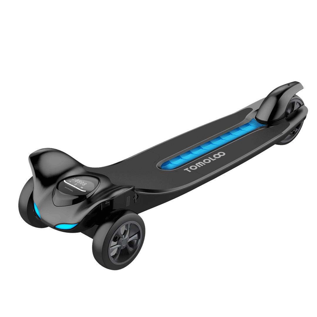 探梦者体感电动滑板车 踏板电动车 遥控三轮平板车迷你便携代步车