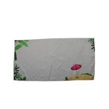 定制超细纤维浴巾游泳温泉毛巾运动健身速干双面绒印花沙滩巾