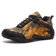廠家直銷2018新款徒步鞋登山鞋戶外運動鞋透氣越野跑鞋迷彩作戰靴