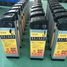 廠家供應48V15AH海霸款電動自行車鋰電池代駕車36V鋰電池值得信賴
