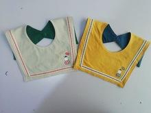 儿童雨伞方形口水巾 宝宝纯棉围嘴韩国婴儿口水巾 厂家批发