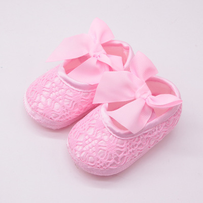 Princess shoes soft sole baby shoes baby shoes single shoe month girl single shoe Baby prewalker toddlers shoes