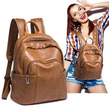 2021油皮時尚背包韓版女生四季雙肩包女包輕復古簡約學生書包廠家
