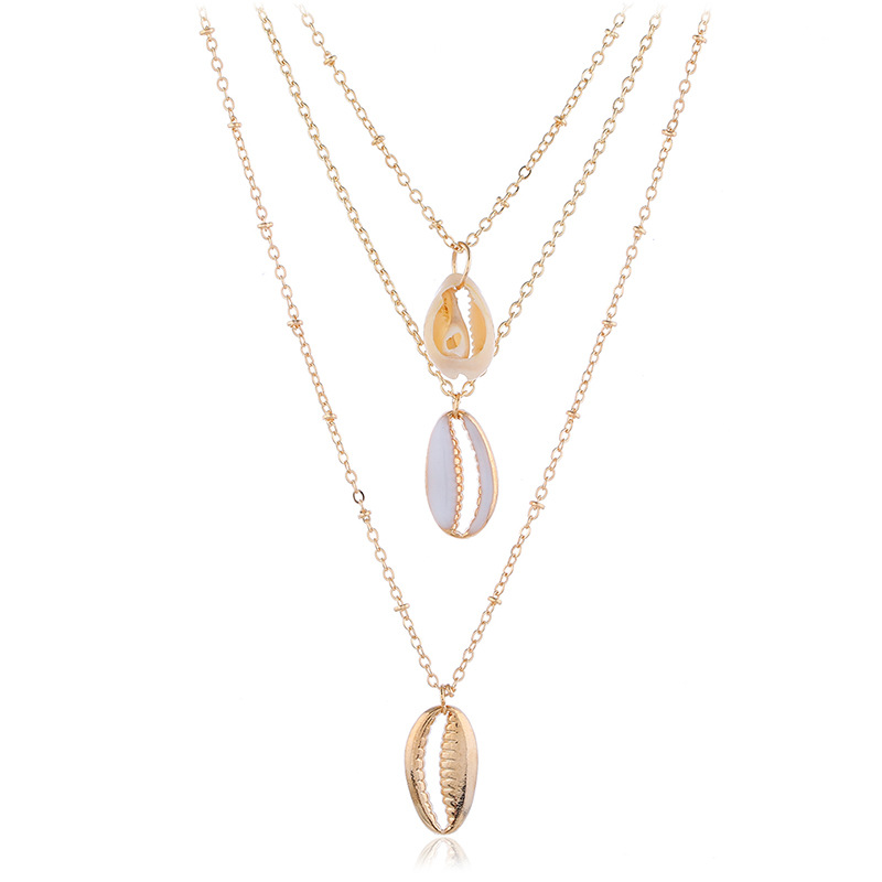 Alloy Simple Geometric necklace  (KC Alloy)  Fashion Jewelry NHKQ2291-KC Alloy