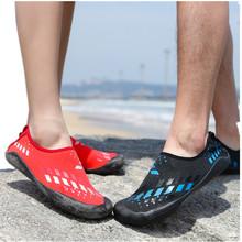 防滑情侶游泳鞋男女戶外海灘沙灘鞋潛水浮潛鞋貼膚軟鞋健身鞋代發
