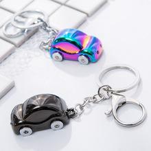 BS-677仿真小汽?#21040;?#23646;钥匙扣圈?#21019;?#24847;小礼品小玩具汽车挂件配饰