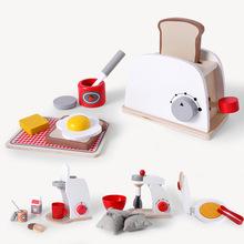 儿童过家家厨房玩具套装木制女孩仿真餐具煮饭男孩宝宝生日礼物