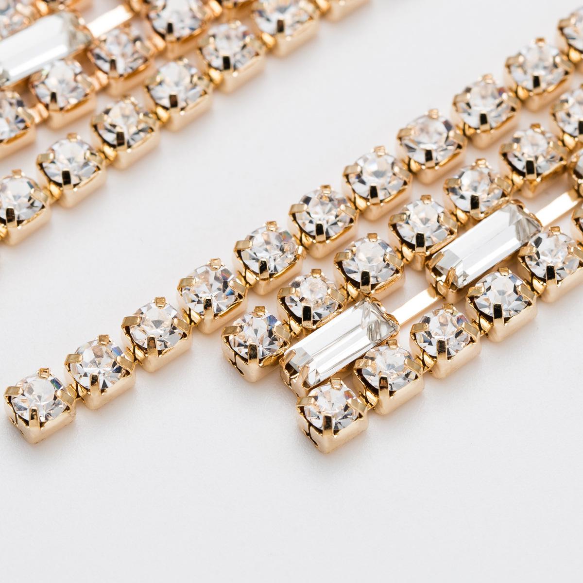 Acrylic Fashion Tassel earring  Alloy NHJE2285Alloy