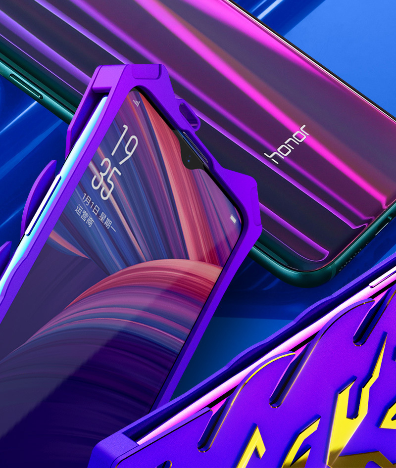 SIMON New THOR II Aviation Aluminum Alloy Shockproof Armor Metal Case Cover for OPPO A7x