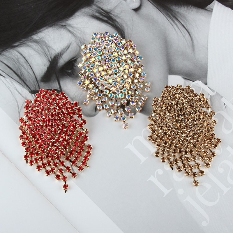 Alloy Bohemia  earring  red NHJQ10628red